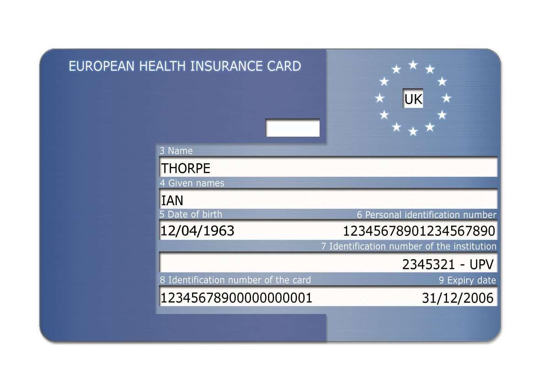 Izdavane Na Evropejska Zdravna Karta European Health Card