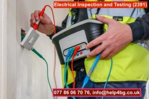 Electrical Inspection and Testing (2391)
